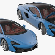 Supercar McLaren 570GT 2017. Preview 17