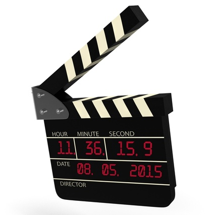 Digital Clapboard 2. Render 15