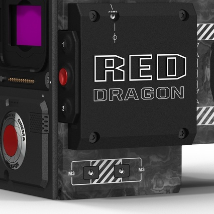 Red Weapon Dragon 6k Body. Render 18