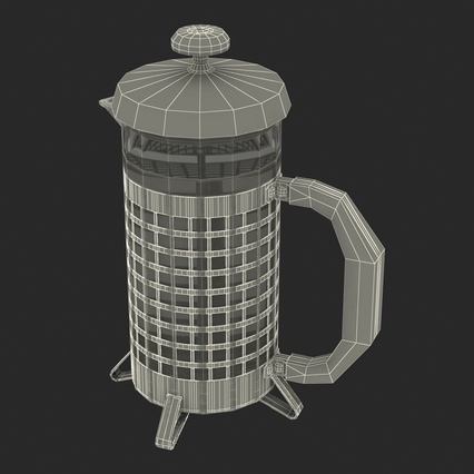 French Press. Render 39