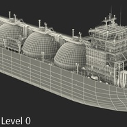 Gas Carrier Ship. Preview 23