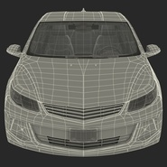 Generic Hybrid Car Rigged. Preview 81