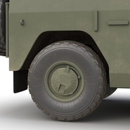 Russian Mobility Vehicle GAZ Tigr M Rigged. Preview 39