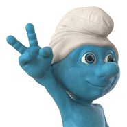 Smurf Rigged for Maya. Preview 28