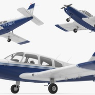Piper PA-28-161 Cherokee Rigged. Preview 10