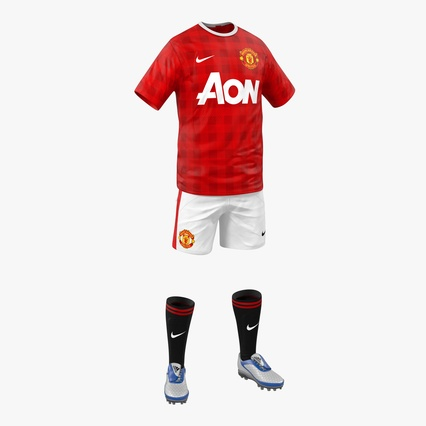 59fbde559 Soccer Clothes Manchester United 3d model