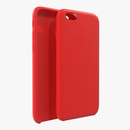 iPhone 6 Silicone Case Red