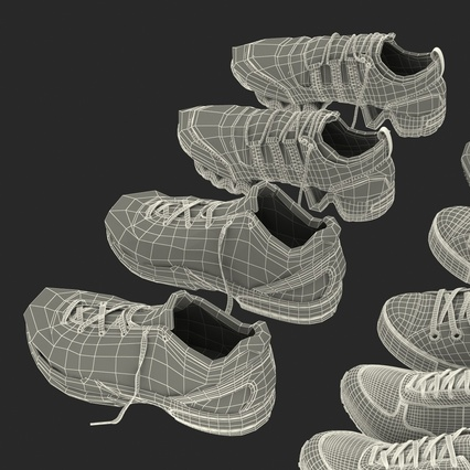 Sneakers Collection 4. Render 135