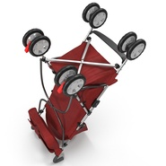 Baby Stroller Red. Preview 17