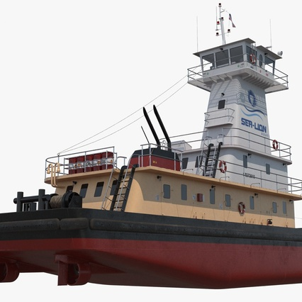 Pushboat. Render 11