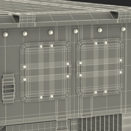 ISO Refrigerated Container. Render 47