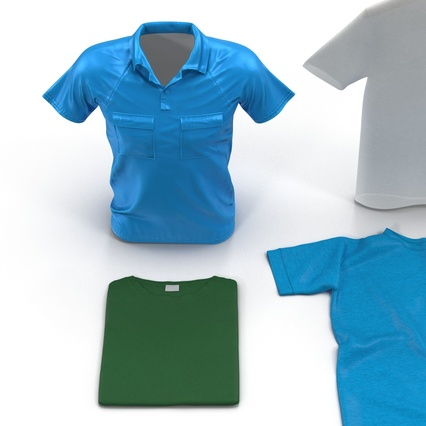 T-Shirts Collection. Render 13