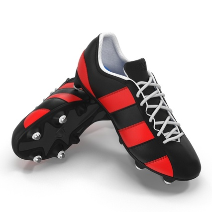 Football Boots Collection. Render 31
