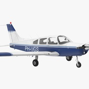 Piper PA-28-161 Cherokee Rigged. Preview 3
