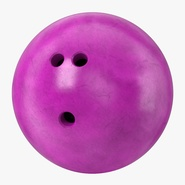 Bowling Ball Purple