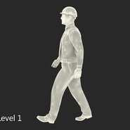 Construction Engineer in Hardhat Standing Pose. Preview 18