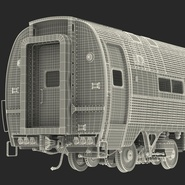 Railroad Amtrak Passenger Car 2. Preview 60