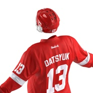Hockey Equipment Detroit Red Wings. Preview 27