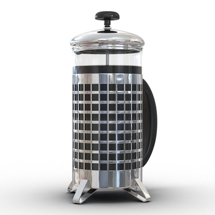 French Press. Render 7