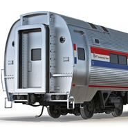 Railroad Amtrak Passenger Car 2. Preview 17
