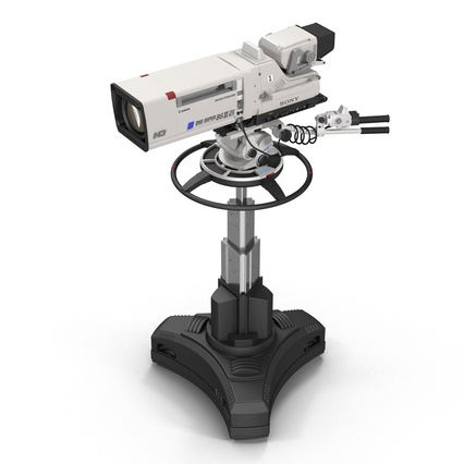 Professional Studio Camera DIGI SUPER 86II. Render 10