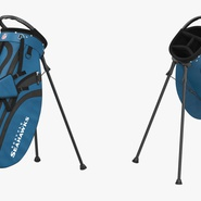 Golf Bag Seahawks with Clubs. Preview 8