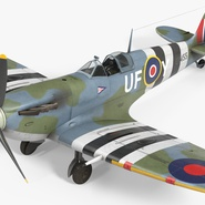 Royal Air Force Fighter Supermarine Spitfire LF Mk IX Rigged. Preview 17