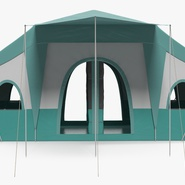 Deluxe Cabin Tent. Preview 8