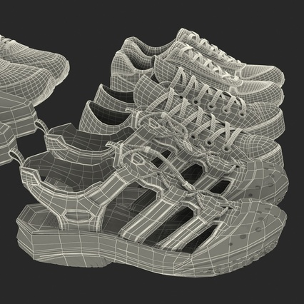 Sneakers Collection 4. Render 136