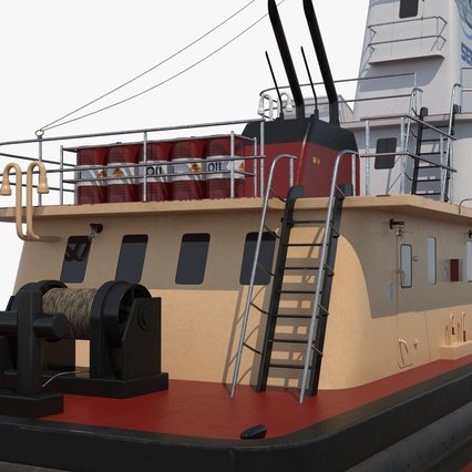 Pushboat. Render 14