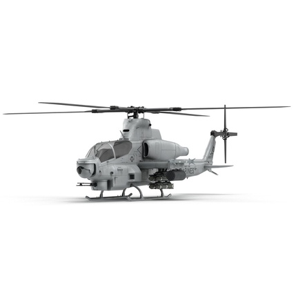 Attack Helicopter Bell AH 1Z Viper Rigged. Render 18