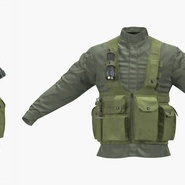 Military Jacket. Preview 5