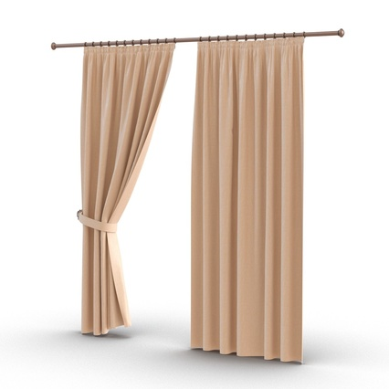 Curtains Collection. Render 20