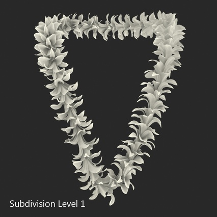 Hawaiian Leis Collection. Render 26