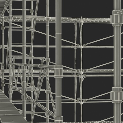 Scaffolding Collection 2. Render 59