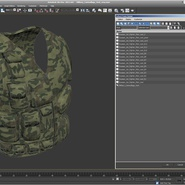 Military Camouflage Vest. Preview 14