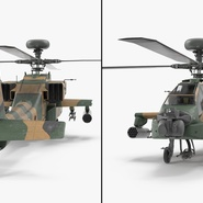 AH-64D Apache Longbow Japan Rigged. Preview 13
