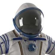 Russian Space Suit Sokol KV2 Rigged. Preview 33