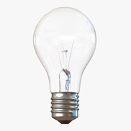 Electric Light Bulb Illuminated