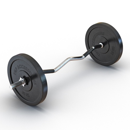 Barbells Collection 2. Render 16