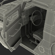Russian Mobility Vehicle GAZ Tigr M Rigged. Preview 99