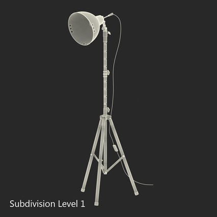 Photo Studio Lamps Collection. Render 64