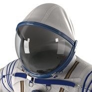 Russian Space Suit Sokol KV2 Rigged. Preview 34