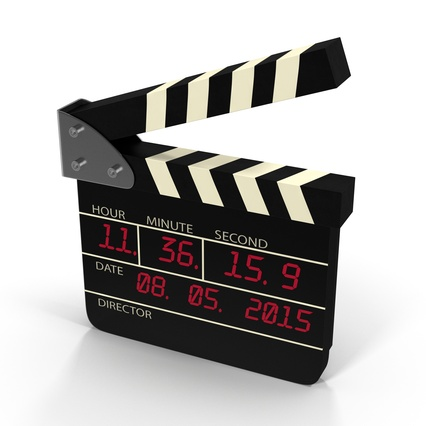 Digital Clapboard 2. Render 2