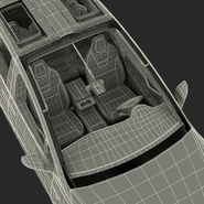 Tesla Model X Rigged. Preview 97