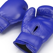 Boxing Gloves Blue. Preview 14