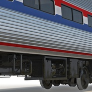Railroad Amtrak Passenger Car 2. Preview 36