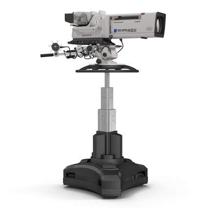 Professional Studio Camera DIGI SUPER 86II. Render 7