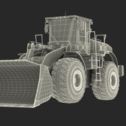 Generic Front End Loader Rigged. Preview 88