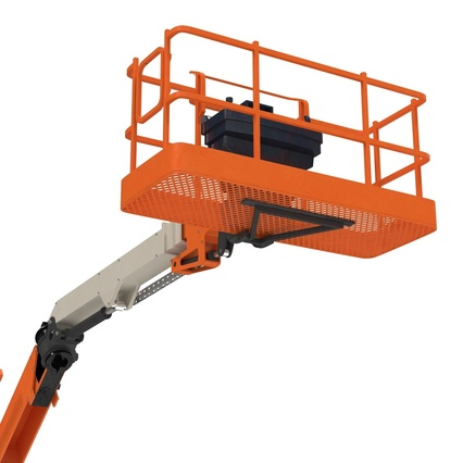 Telescopic Boom Lift Generic 4 Pose 2. Render 53